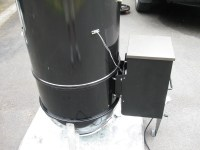 **Pellet Pro Stacker Ring for Weber WSM**