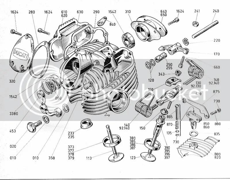 Ducati Engine Drawing