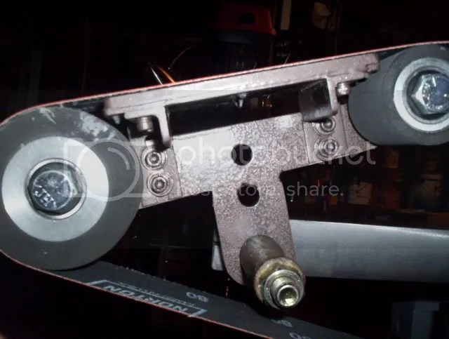 Grizzly G1015 Platen