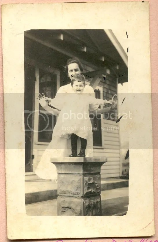 Doris with her aunt Juanita (Carver) LaRue