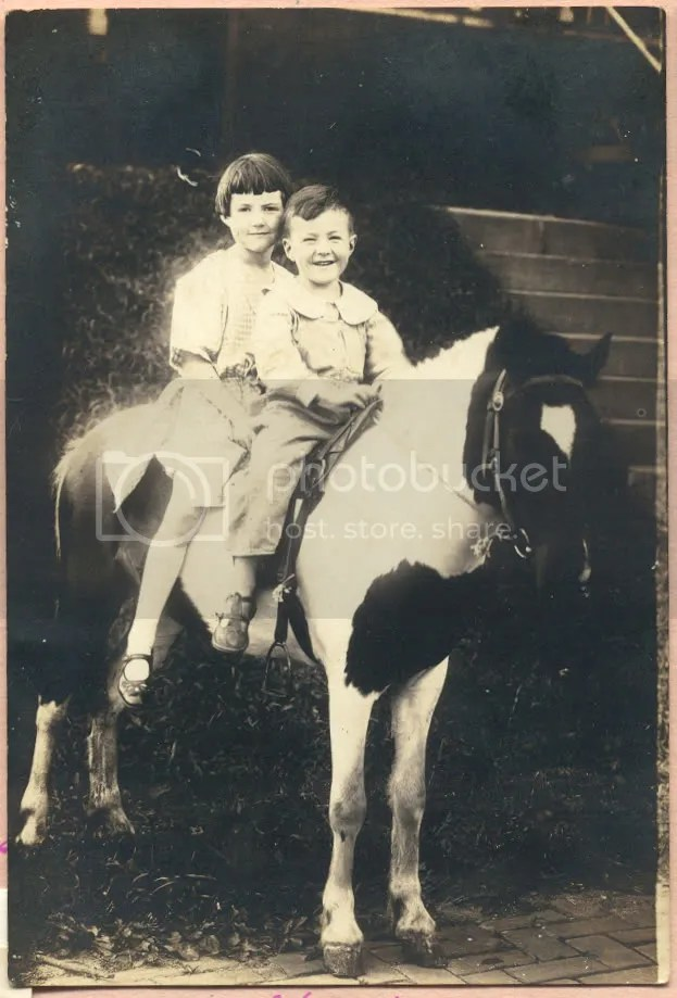 Doris and her brother Glenn