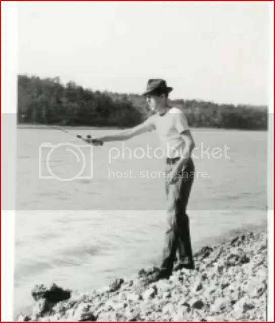Earl fishing