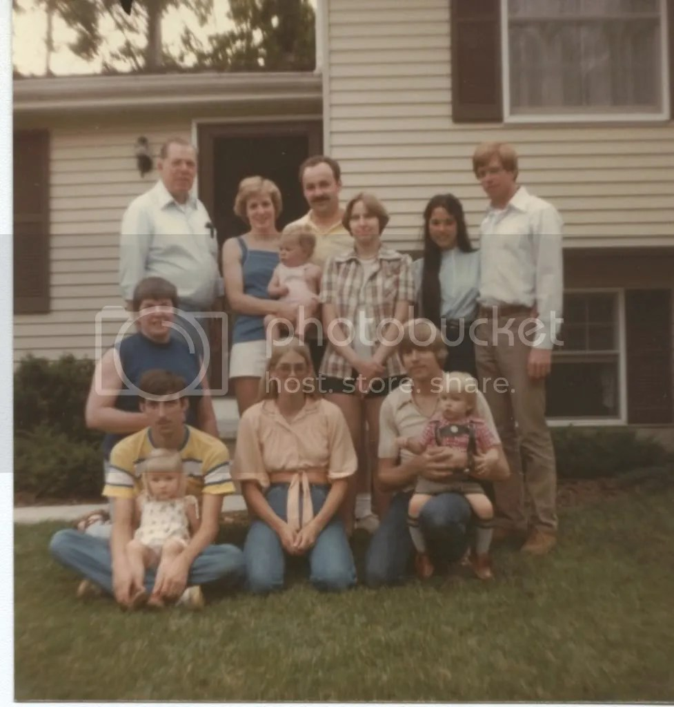 Colley Family 1979 Baldwinsville NY