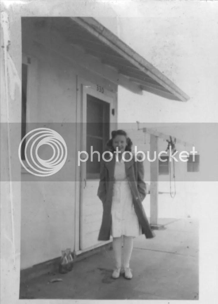 Jane at Fairfield, California, summer of 1946