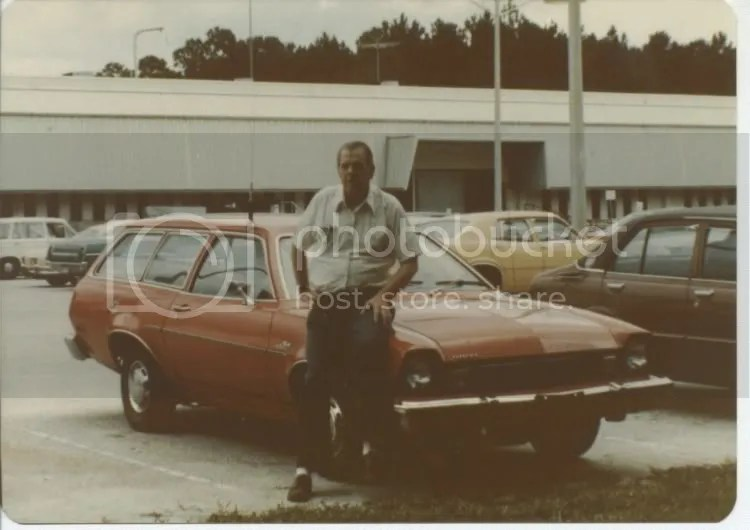 Earl in the General Electric parking lot at Daytona Beach, Florida