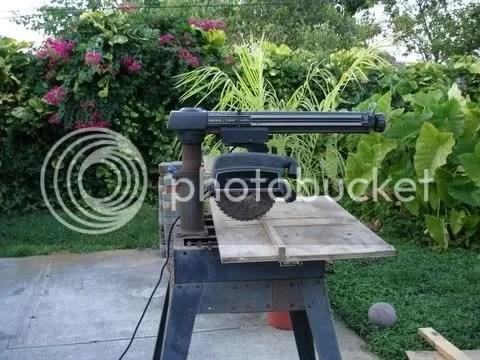 Electronic Radial Saw Craftsman
