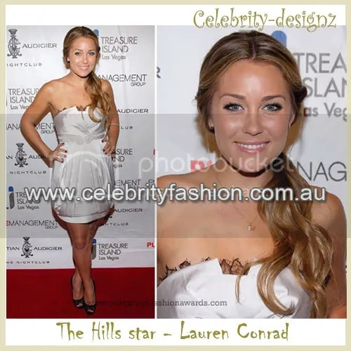 Lauren Conrad Satin Bubble Dress