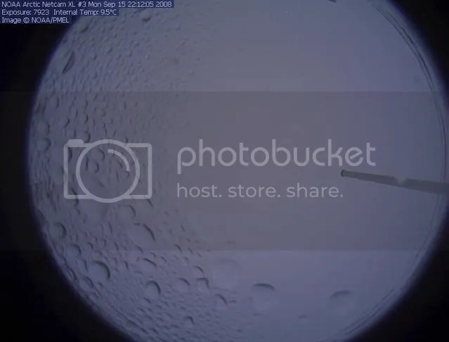 NOAA North Pole webcam #3, 14 September 2008