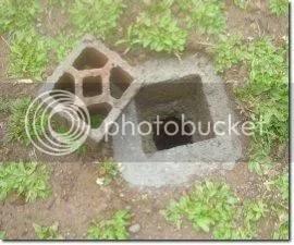 Loster penutup lubang biopori