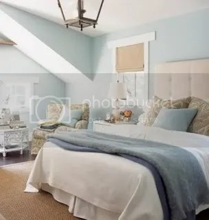 blue and cream bedroom Undecided Blue or Cream Bedroom (Pics Please?)