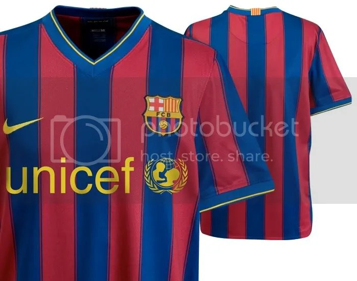 FC Barcelona 2009 10 Official Jersey Revealed All About