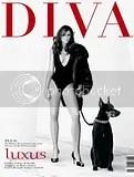 Liz Hurley - Diva Magazine