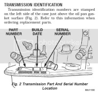 √ Jeep Transfer Case Identification Chart | identify rear diff