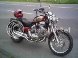 nova moto do meu velho