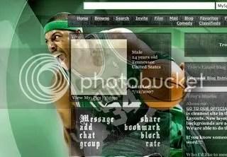 Paul Pierce Myspace Layout
