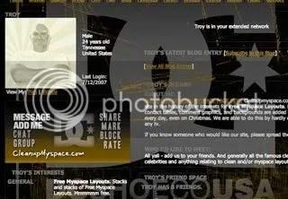 DC Myspace Graphic