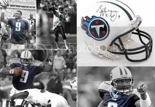 Steve McNair Layout and Background Tribute