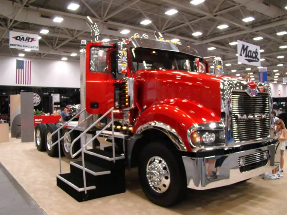medium resolution of we ll start with the mack titan awesome rig