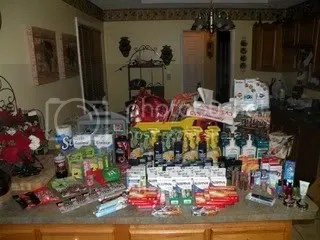 My favorite CVS haul of all time. This was from Christmas last year. Clearly I can't list everything in this photo, but oyu can see for yourself just how great shopping at CVS can be!  I spent more on this one then normal an even then it was less then $6. Yes, you read that right.. $6 !