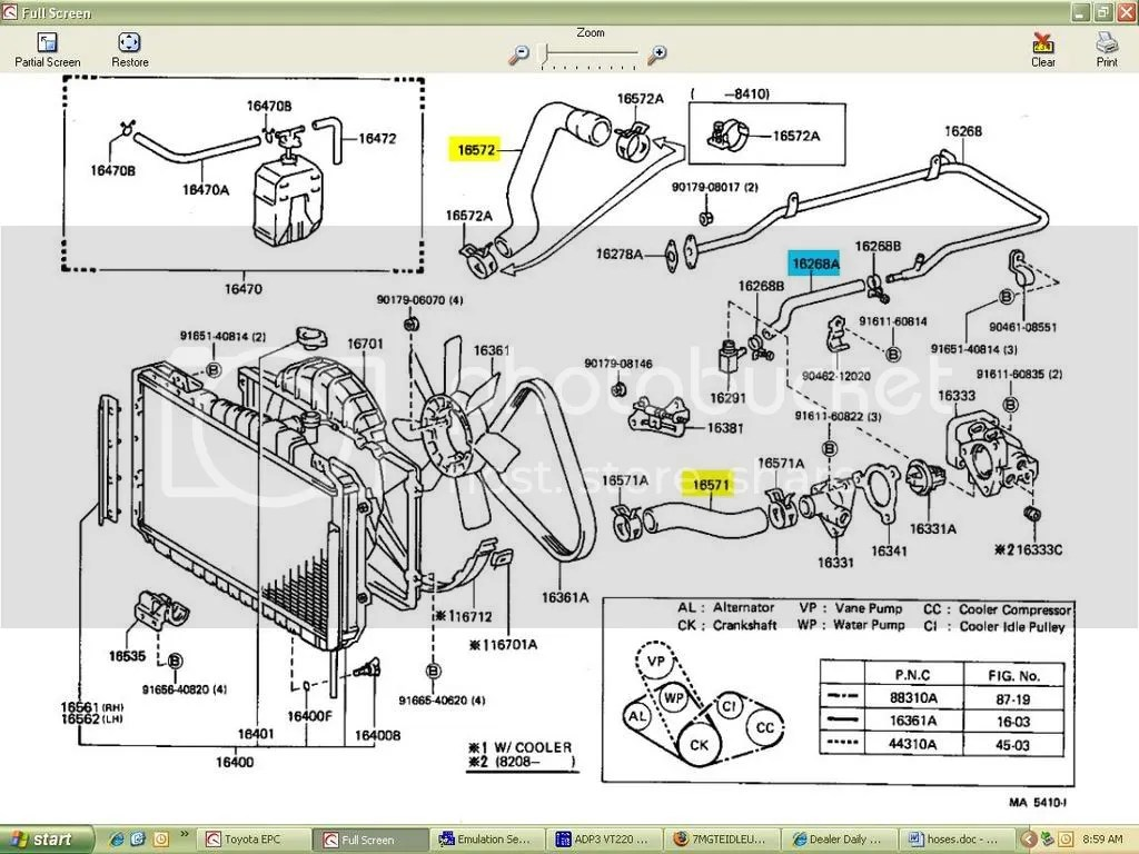 7mgte wiring harness diagram ac 89 7mge engine wire