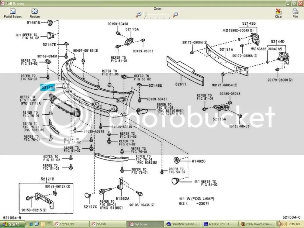 medium resolution of 2006 toyota corolla s 2006 corolla parts diagram 2006 corolla parts diagram