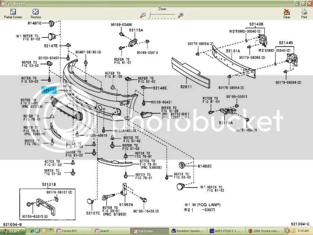 hight resolution of 2006 toyota corolla s 2006 corolla parts diagram 2006 corolla parts diagram