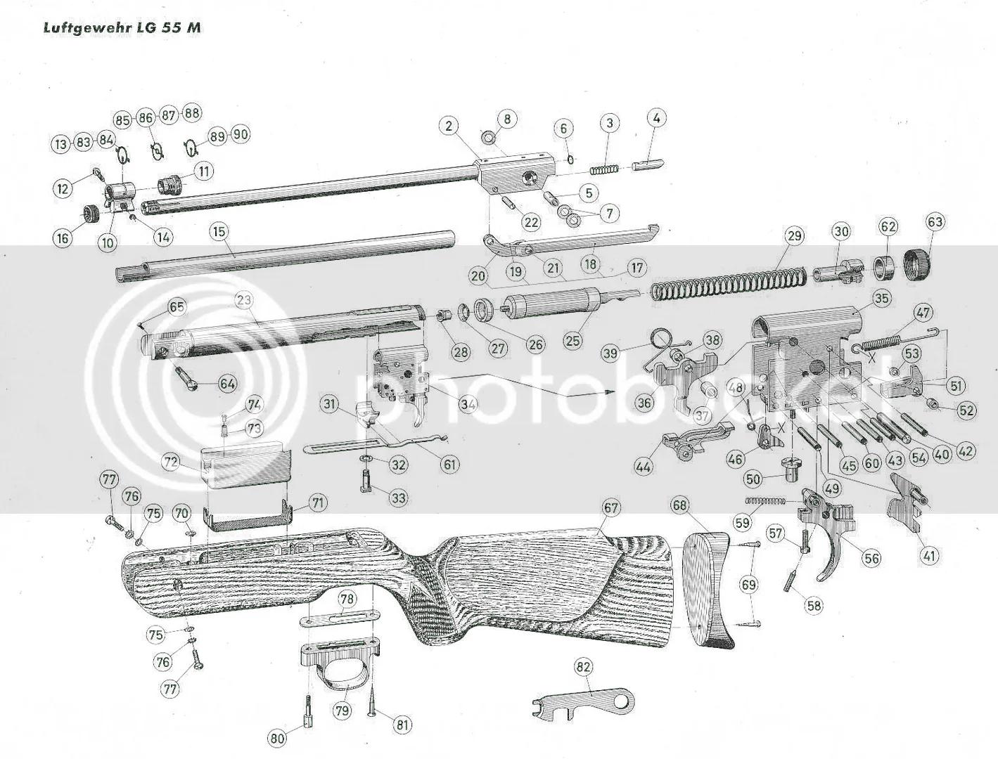 American Vintage Airguns Forum Walther Lg55