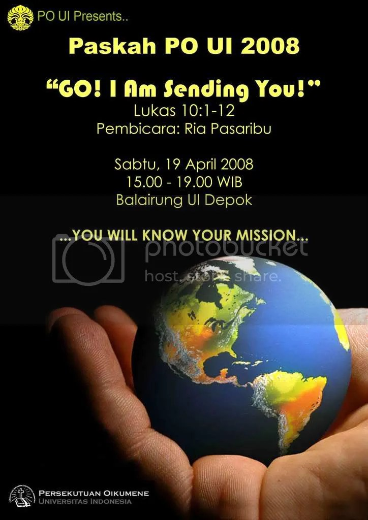 Poster Paskah POUI 2008