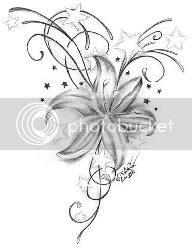 gun tattoo design flower tattoo symbolism