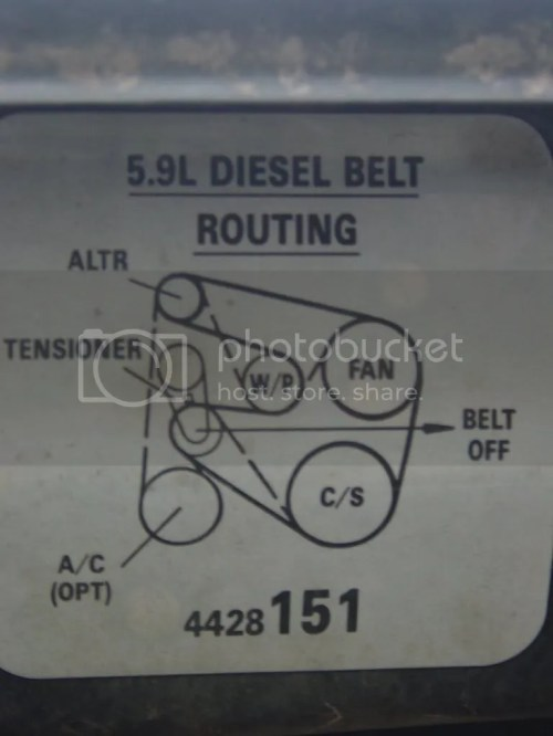 small resolution of 2015 ram 2500 belt diagram