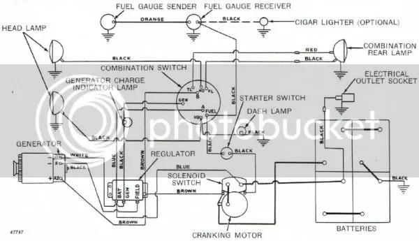 Wiring Diagram For John Deere 4010 Sel Tractor John Deere
