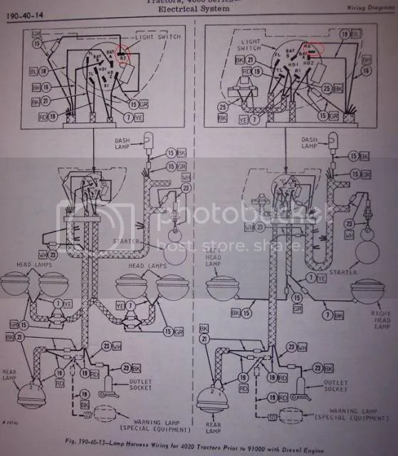 John Deere 4020 Wiring Diagram 2 24 Volt Battery Wiring Diagram