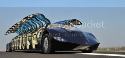 23-passenger, 250 kph electric superbus