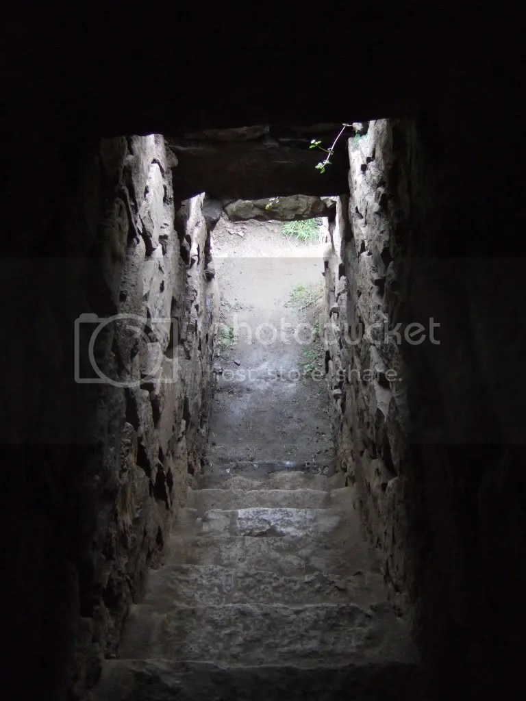 Light from tunnels designed to funnel light into the complex give the tunnel a feeling of openness and escape.