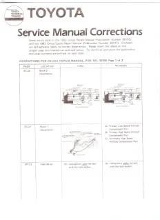 Pioneer Deh 43 Wiring Diagram 1982 Celica Supra Tsrm Near Complete Set