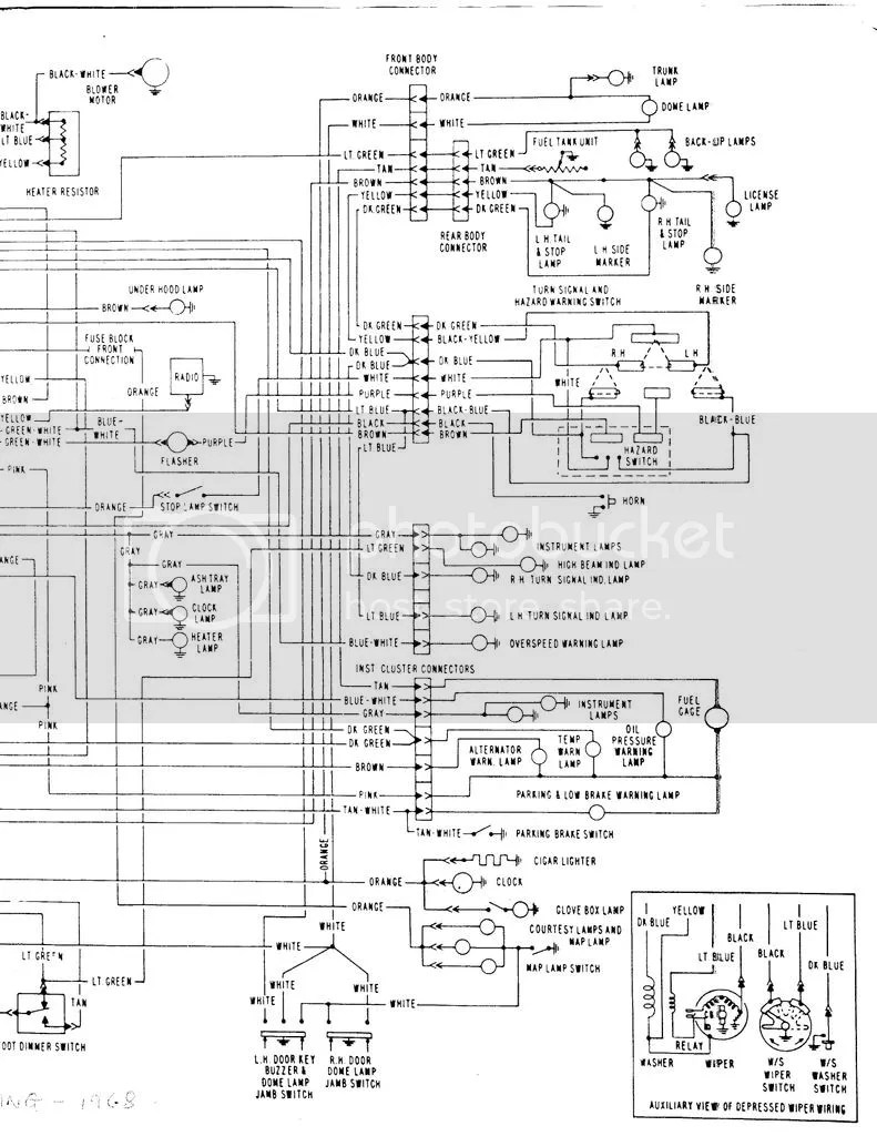 hight resolution of 1968 olds wiring diagram wiring diagram 1968 olds wiring diagram
