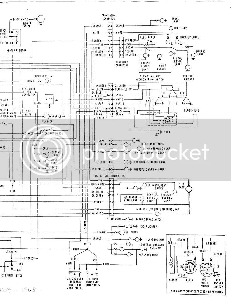 Wiring Diagram 1996 Oldsmobile Cutlass Supreme   New