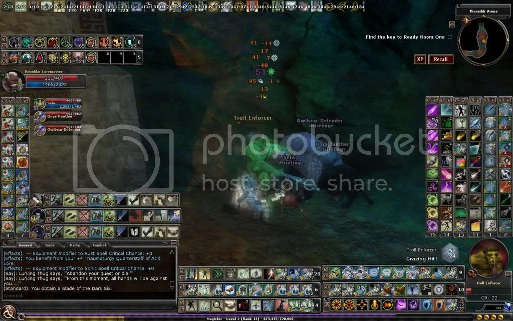 Rim hacking away at a Troll in VON 1 photo RimuldarhackingawayataTrollinVON1_zpsa233ecad.jpg