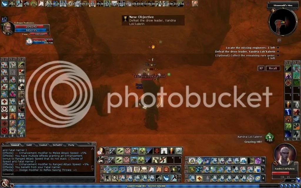 Fighting the drow leader in Stromvauld's Mine photo FightingthedrowleaderinStromvauldsMine_zps27da9a09.jpg