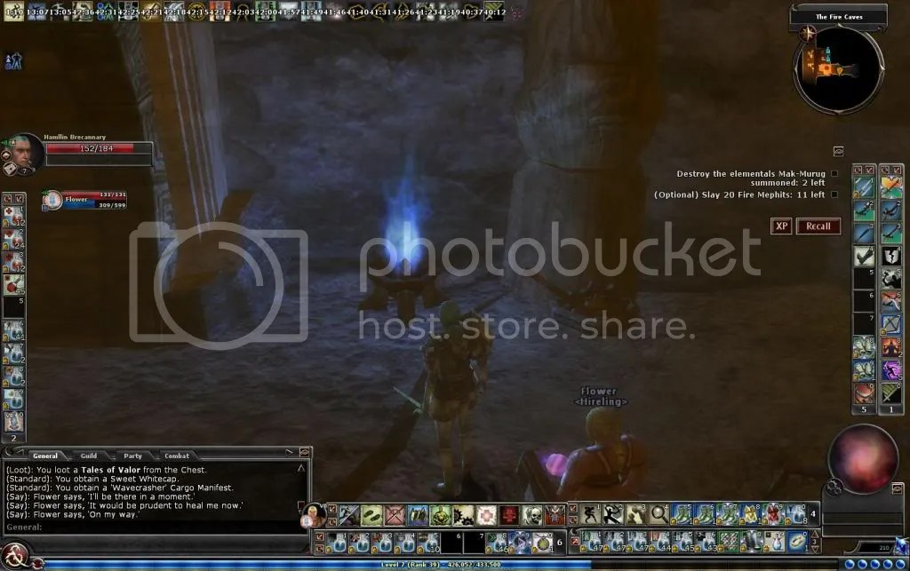 Interesting blue flame in the Fire Caves photo Interestingblueflameinthefirecaves_zps0826edfe.jpg