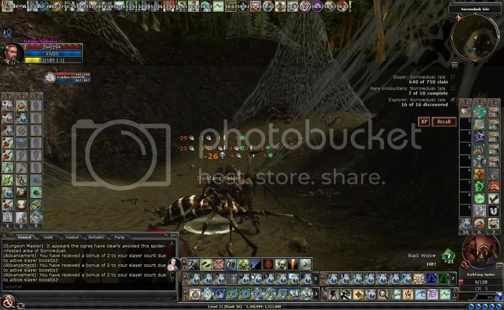Time to fight the spider ambush in Sorrowdusk Isle photo Timetofightthespiderambush_zps9e8f8667.jpg