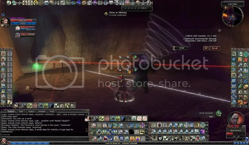 photo Erd and his owlbear facing a drow sorceress in the LC_zpseah0urgc.jpg
