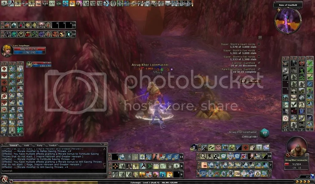 photo Larrs taking on the Loremaster in Gianthold_zps2onorqvj.jpg
