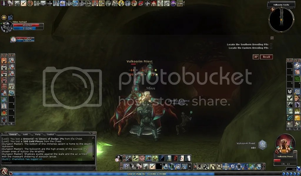 photo Tuhnn taking on the Scorrow in Raid the Vulkoorim_zps6ztdrtmv.jpg