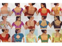 Neck Designs Of Saree Blouse Pictures, Images & Photos ...