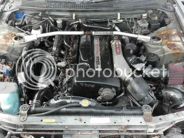 Fuse Box 1995 Skyline Gtr R33 Front Clip Motor Rb26dett R33 Rareeeee