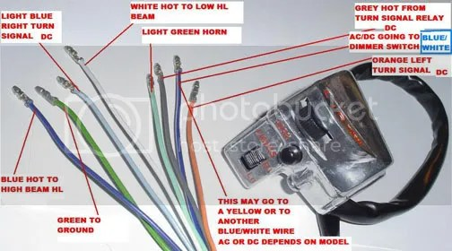 Honda Motorcycle Wiring Diagrams On Neutral Wiring Color Code
