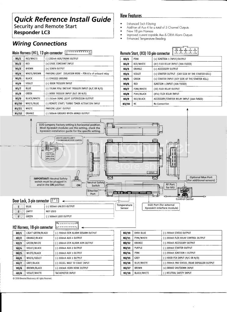 viper 5901 alarm wiring diagram tracker pro guide very detailed install of with remote start - page 3 acurazine acura enthusiast ...
