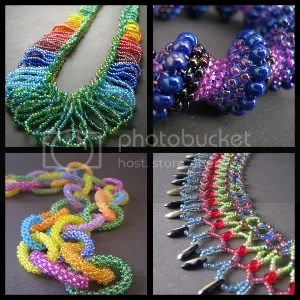 Beadwork Color Collage