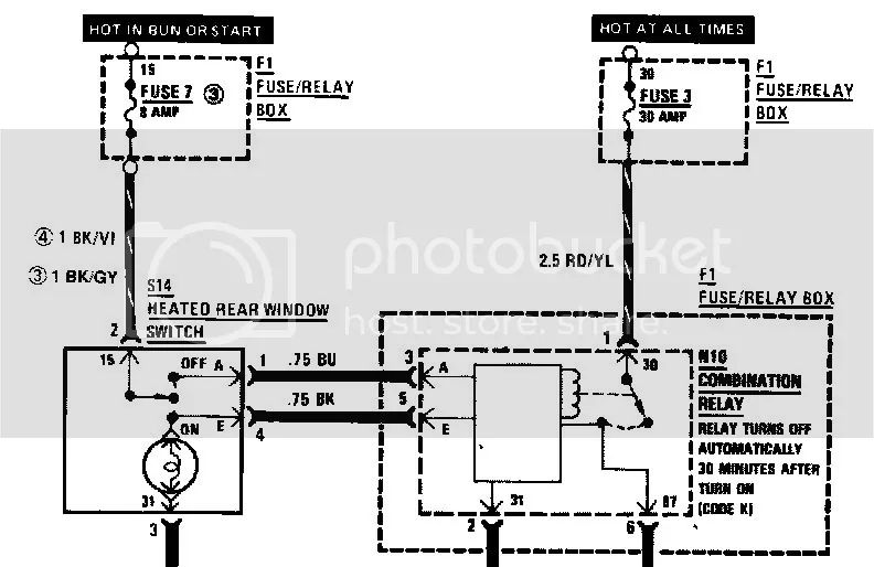 bmw 2002tii fuse box diagram